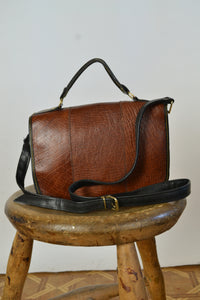 Small Messenger Leather Bag