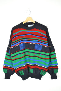 Vintage 90s - Coogi Style Sweater - Size L