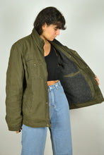 Load image into Gallery viewer, 90s Levi's Lined Khaki Jacket Medium M