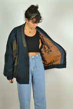 Load image into Gallery viewer, 80s Wool Suede Bomber Jacket XL