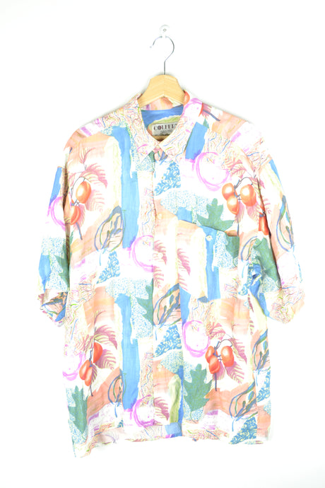 80s Fruity Unisex Summer shirt XL
