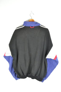 Adidas Half zip Color block Sweatshirt Large L