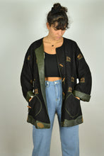 Load image into Gallery viewer, 70s 80s Bavarian Austrian Leather Jacket M L