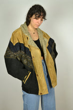 Load image into Gallery viewer, Vintage 80s - Aztec Bomber Jacket - Size L