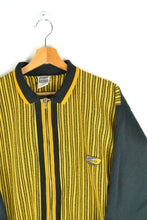 Load image into Gallery viewer, 90s ZIp Jacket Black/Yellow Medium M