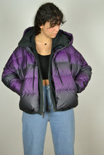 Load image into Gallery viewer, Recent NIKE Purple Iridescent Down Jacket - Size M
