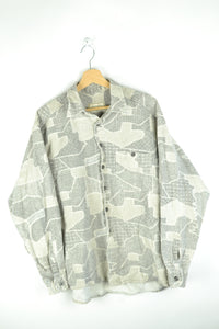 Cool 90s Long sleeved Thick Shirt Large L
