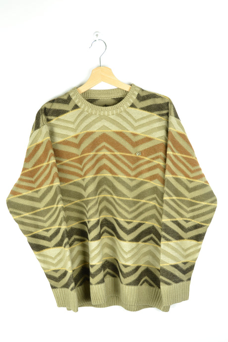 Patterned Sweater Medium M