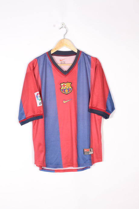 Nike FC BARCELONA T-Shirt Football 2000/01 Medium M