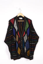 Load image into Gallery viewer, Original Carlo Colucci Cardigan Vintage 80s Oversize XL