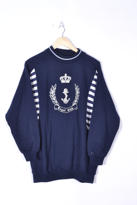 80s Crone Anchor Sweatshirt Crewneck Medium M