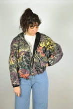 Load image into Gallery viewer, 80s Cropped Jacket Large L