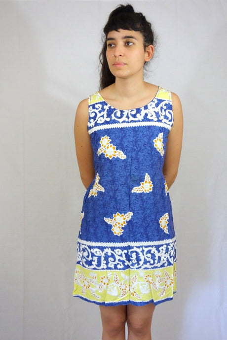 Summer 90s Dress Vintage Small S M
