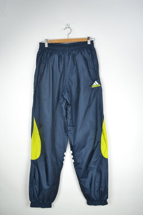 Adidas Shell Jogging Pant Vintage 90s Blue/Yellow Medium M