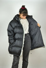 Load image into Gallery viewer, NIKE Black Duck Down Parka Jacket Vintage 90s 3XL XXL