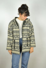 Load image into Gallery viewer, Abstract Patterns Jacket Vintage 80s 90s Medium  M