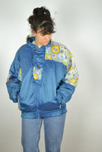 Load image into Gallery viewer, 80s Neon Ski Down Jacket Vintage 80s Medium M