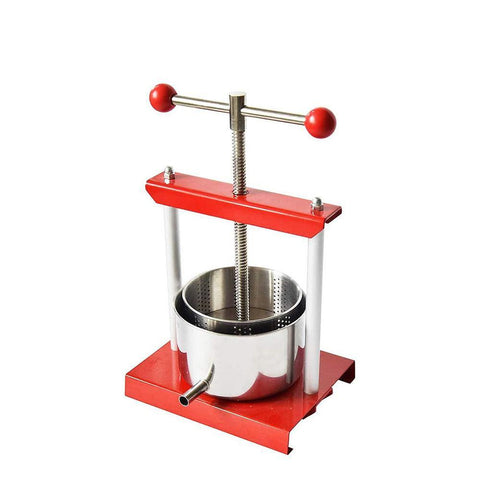 EJWOX Tabletop Wine/Fruit/Cheese /Tincture Press-Stainless Steel