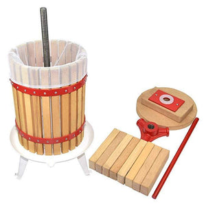 ejwox 1.6 Gallon Wooden Wine/Cider/Fruit Press
