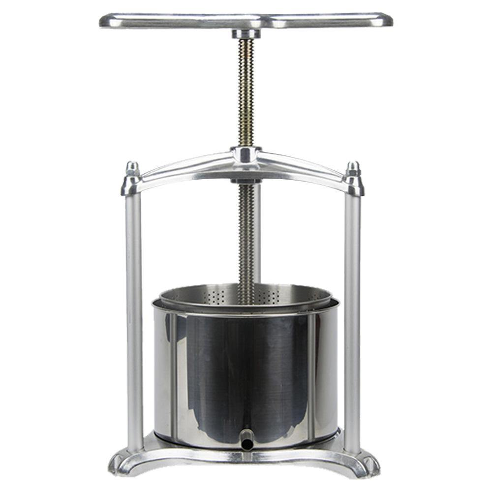 ejwox 0.79 Gallon Aluminum Tabletop Wine/Cider/Fruit Press