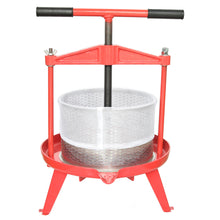 Load image into Gallery viewer, ejwox 2.38 Gallon Heavy Duty T-Handle Wine/Cider/Fruit Press