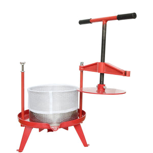 ejwox 2.38 Gallon Heavy Duty T-Handle Wine/Cider/Fruit Press