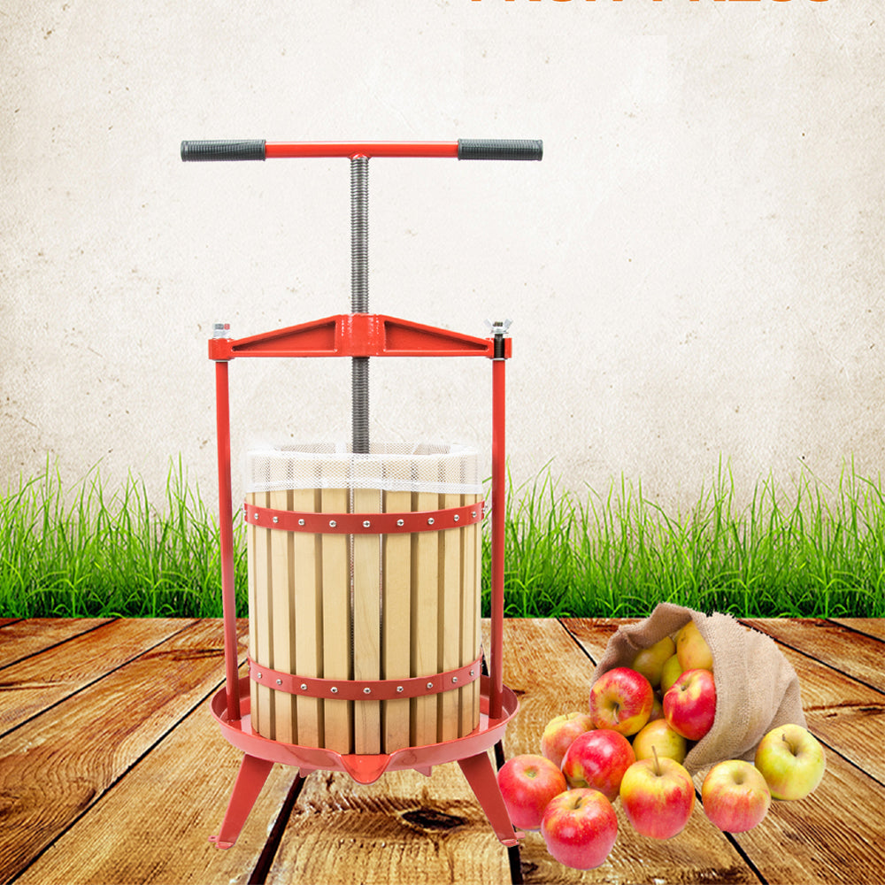 ejwox 4.75 Gallon Heavy Duty T-Handle Wine/Cider/Fruit Press