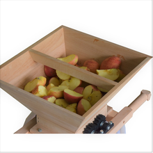 Load image into Gallery viewer, ejwox 7L Wooden Fruit Crusher & Grinder (Beechwood)