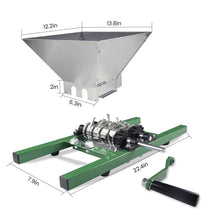 Load image into Gallery viewer, ejwox 7L Metal Fruit Crusher & Grinder (Hopper Assembled)