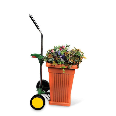 EJWOX Garden Pot Mover with Adjustable Handle -  Free Wheels and Gripping Suction Cups - EJWOX Products Inc