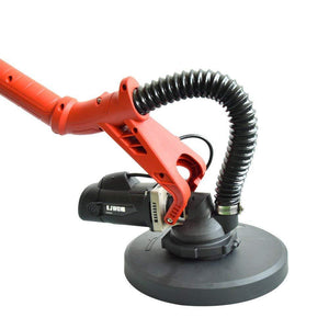 ejwox Dual-Head Drywall Sander w/ 13.5 Ft Dust Hose