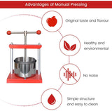 EJWOX Tabletop Wine/Fruit/Cheese /Tincture Press-Stainless Steel - EJWOX Products Inc