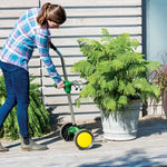 EJWOX Garden Pot Plant Mover with Adjustable Handle -  Free Wheels and Gripping Suction Cups -Christmas SALES!  EJWOX Products Inc