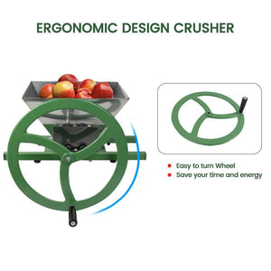 Fruit And Apple Crusher With Wheel