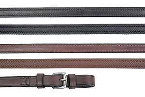Rubber Lined Leather Rein