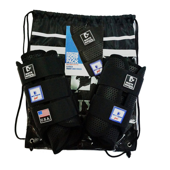 Majyk Equipe Boyd Martin Eventing Kit (Front and Hinds) Black