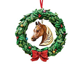 Breyer Equestrian Wreath Ornament