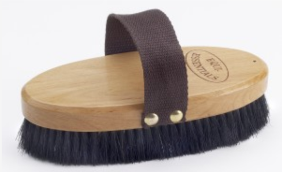 Wood Back Body Brush with Horse Hair 7L Soft
