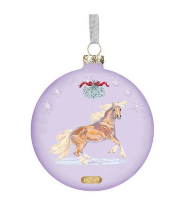 Breyer Artist Signature Glass Ornament