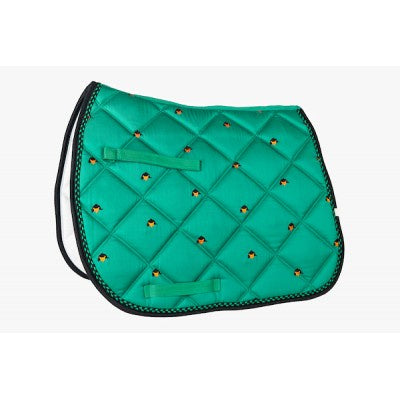 Union Hill Green Fox Saddle Pad