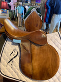 "Hartley Saddle 17"" Consignment"