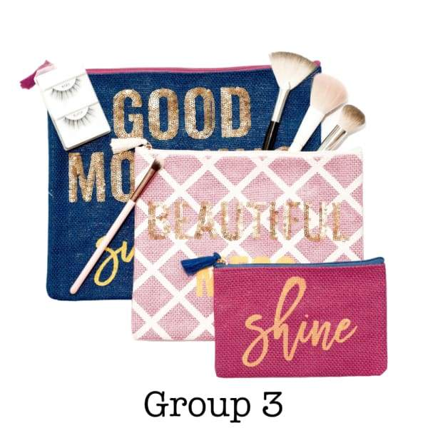 Cosmetic Bag Set - Group 1 - Bags & Luggage - Women's Bags -