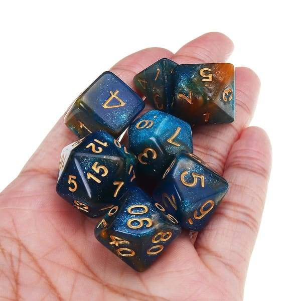 35pcs Set Polyhedral Dices DND RPG MTG Role Playing Board
