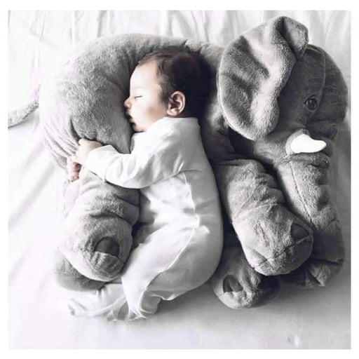 Soft Cushion Baby Sleeping Stuffed Elephant Pillow - XpressGoods