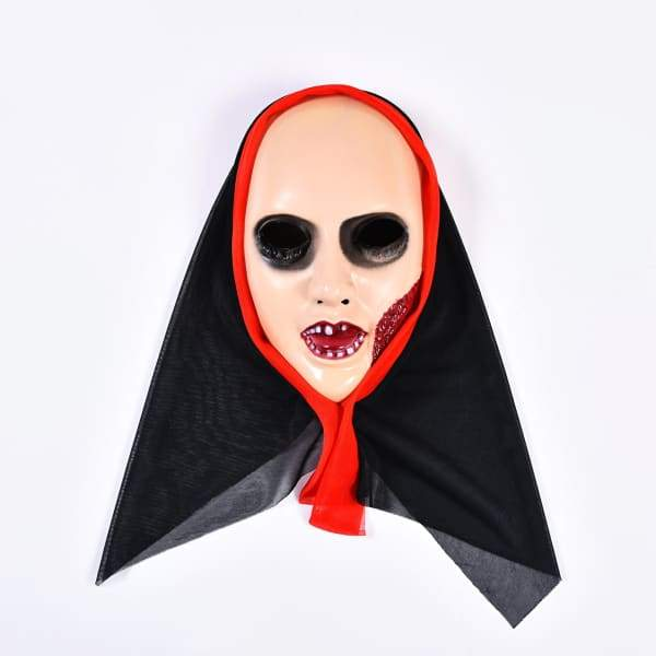 Dali Female Halloween Day Mask - Black - Halloween Supplies