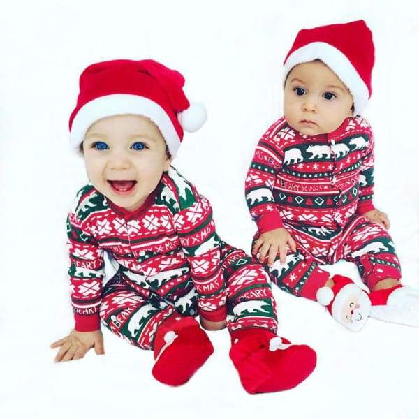 Christmas Jumpsuit For New Born Baby | Baby Christmas Dress