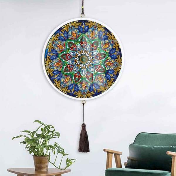 Children's Handmade Diy Circle Hanging - C - Home & Garden