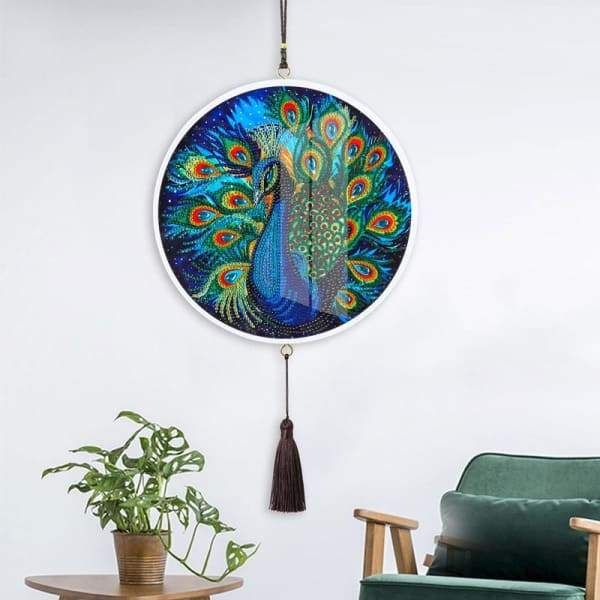 Children's Handmade Diy Circle Hanging - K - Home & Garden