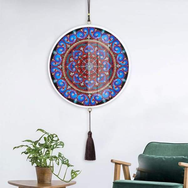 Children's Handmade Diy Circle Hanging - L - Home & Garden