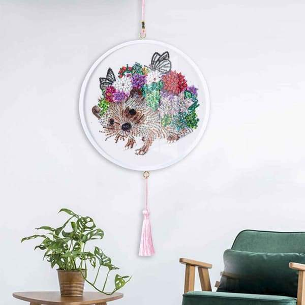 Children's Handmade Diy Circle Hanging - Q - Home & Garden